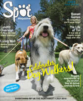 Spot Magazine gave Hot Diggity! several awards over the years for our stellar pet care, dog walking, pet sitting, and cat sitting services in Portland, Oregon
